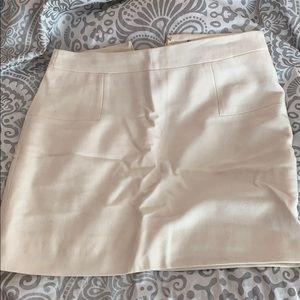 Off white jcrew skirt